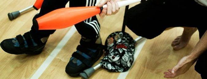 Special needs circus workshops kent