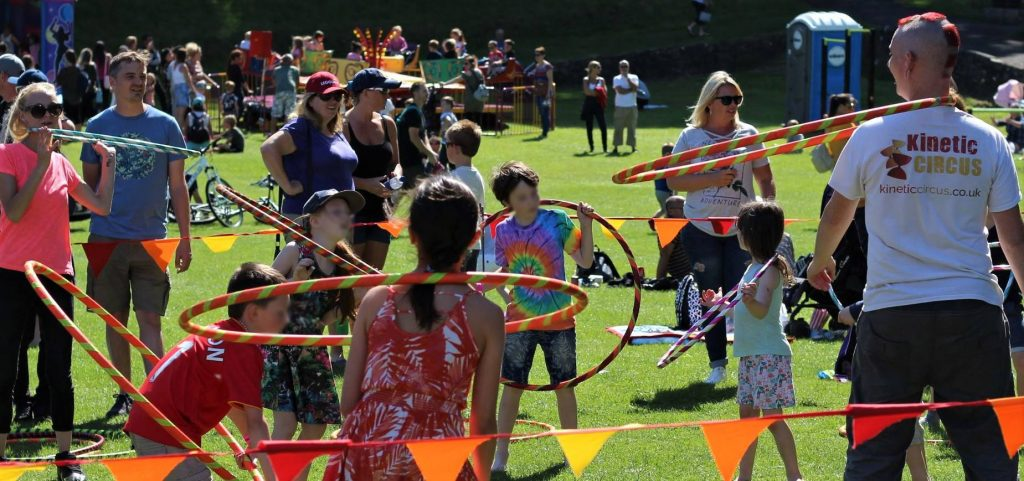 Kinetic Circus Skills Workshops
